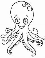 Octopus Coloring Octopus1 sketch template
