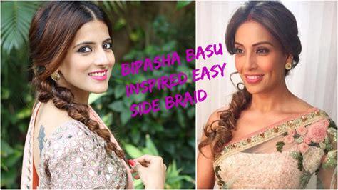indian hairstyles  saree  medium  long hair prom