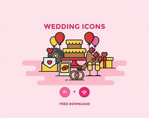 Free Vector Wedding Icons — Free Design Resources