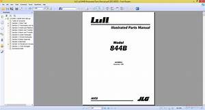 Jlg Lull 844b Illustrated Parts Manual