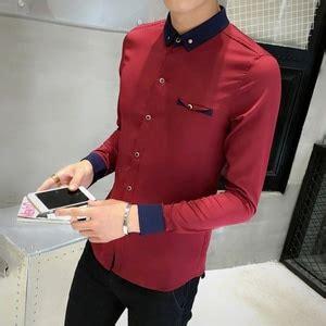 baju kemeja pria hem cowok lengan panjang keren ryn fashion