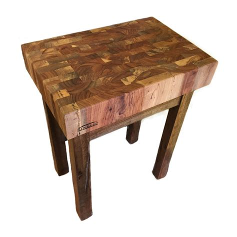 Butcher Block Stand  Tin Roof Kitchen & Home