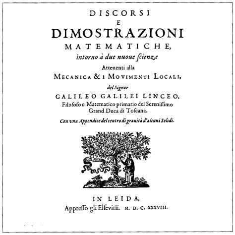 file galileo galilei discorsi e dimostrazioni matematiche