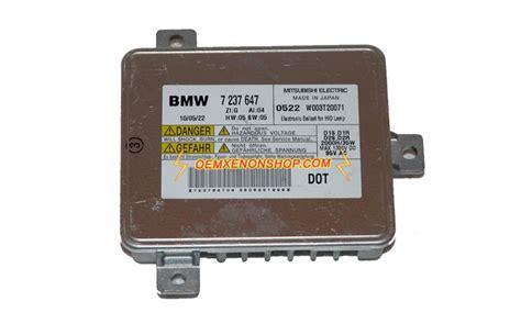bmw 5 series f07 f10 f11 oem xenon headlight ballast bulb