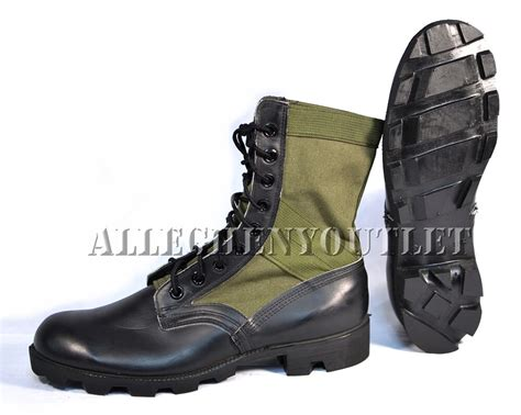 Army Semi Boot lot nos us jungle combat boots spike