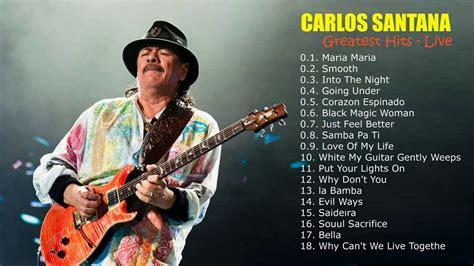 Carlos Santana Greatest Hits (live)  Full Album Of