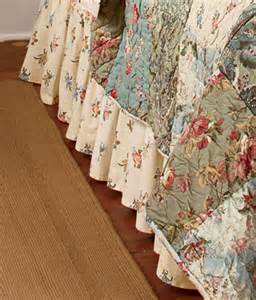 bed skirt bedskirt bedskirts and dust ruffle country