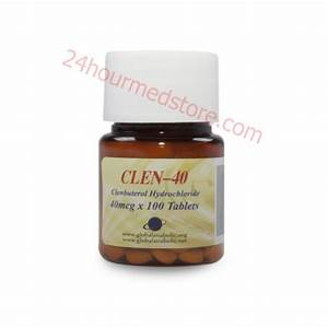 Buy Ga Clen-40  Clenbuterol   Clenbuterol Hcl  By Global Anabolics Online
