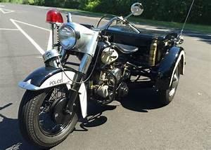 1963 Harley Davidson Police Trike Survivor http