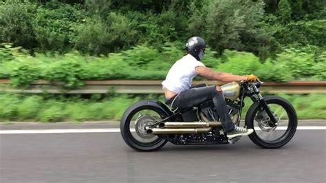 Custom Harley Davidson Nighttrain Bobber Chopper