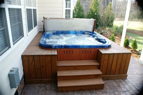 Patios With Tubs by 1000 Ideas About Tub Patio On Deck