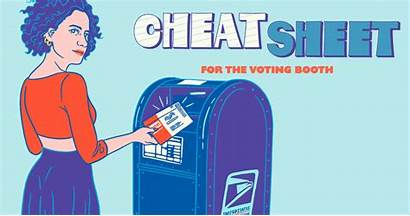 Cheat Voting Sheet Booth