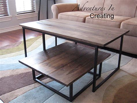 Metal Bench Legs Ikea by Gorgeous Diy Coffee Tables 12 Inspiring Projects To Upgrade