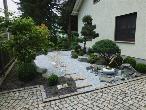 Japanischer Garten Vorgarten japanischer vorgarten garten u landschaftsbau leipzig