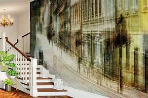 designer tapeten von christiane steinicke tapeterie With markise balkon mit designer tapeten berlin