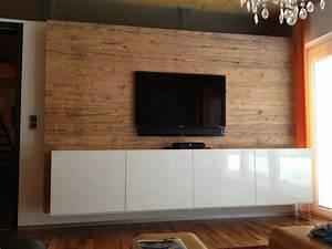 Tv Wand Modern : bs holzdesign holzterrasse holz wandverkleidung vom ~ Michelbontemps.com Haus und Dekorationen