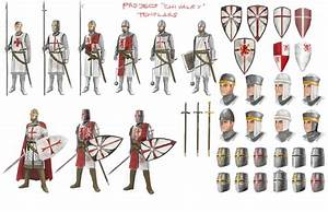 the white knights templar knights With the knights templat