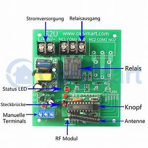 Rolladenmotor Nachrüsten Funk : 1 kanal ac230v funk schalter empf nger mit memory funktion funkmodellbau wasserdicht ~ Frokenaadalensverden.com Haus und Dekorationen