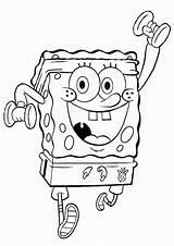 Spongebob Sponge Bob Coloring Pages Print sketch template