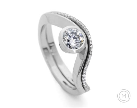 fitted wedding bands best 28 images shaped wedding
