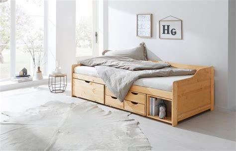 Home Affaire Stauraumbett »nils«, Mit 4 Schubläden Und