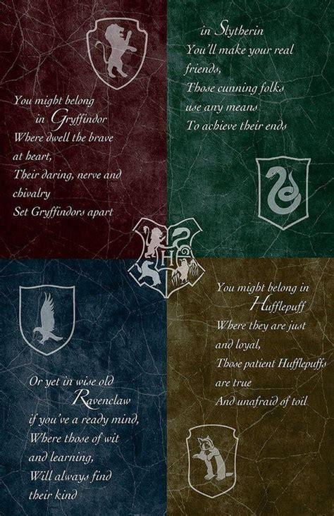 Harry Potter In Welches Hogwartshaus Gehörst Du?