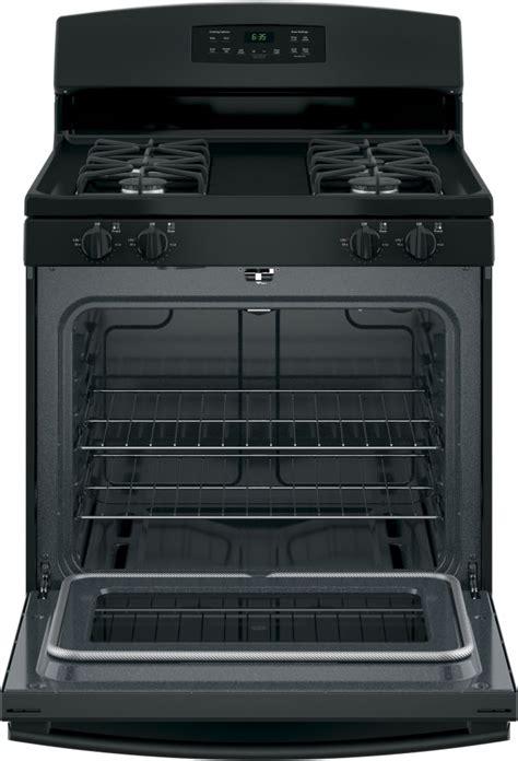 ge jgbdekbb   freestanding gas range  precise simmer burner storage drawer
