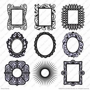 1000+ images about Cricut Fancy Frames on Pinterest