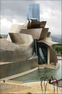 By Frank Gehry Guggenheim Museum Bilbao Spain