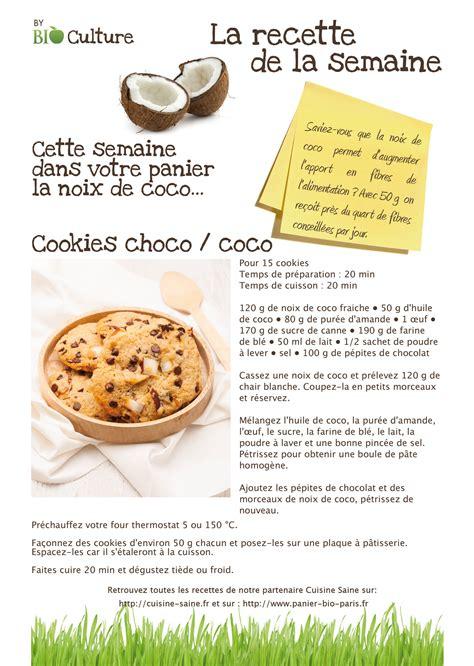 recette des cuisine recettes et photo culinaire dans le panier bio culture