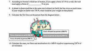Solved  7  According To Newton U0026 39 S Third Law Of Motion  If Y