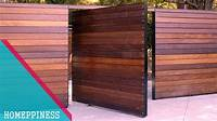 fence gate design (NEW DESIGN 2017) 50+ Modern Wood Gate Fence Ideas - YouTube