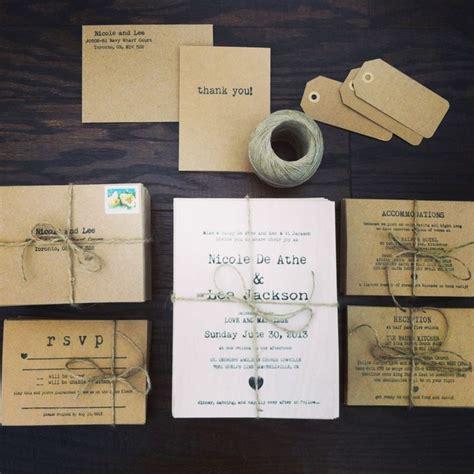wedding invitation homemade