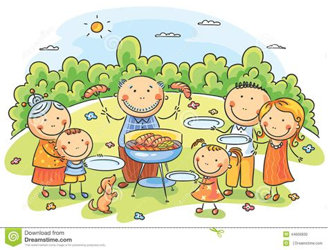 picnic cartoons illustrations vector stock images
