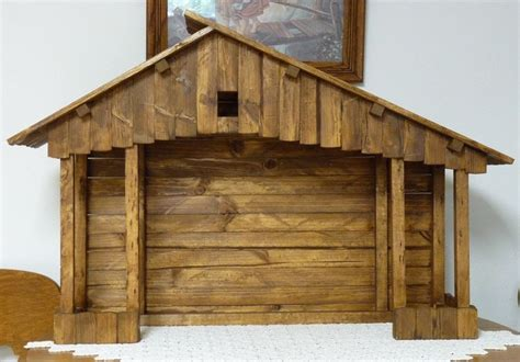 large handmade nativity stable nativity stable stables