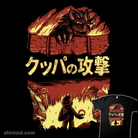 Attack Of Bowser Shirtoid