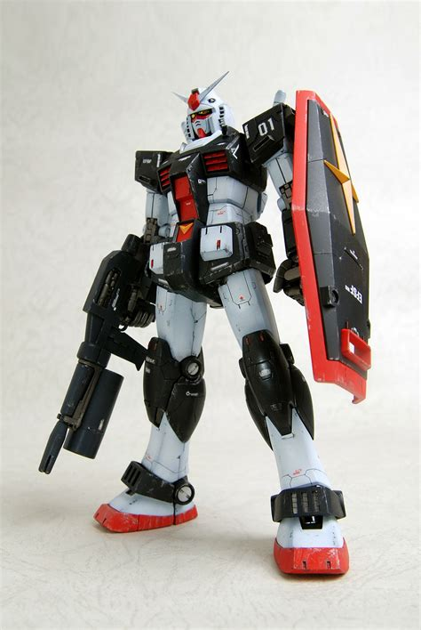 remodeling mg rx   gundam work  photoreview