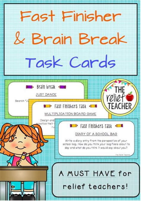 Pay Teachers Teaching And The O 39 Jays On Fast Finisher Brain Task Cards A Must For