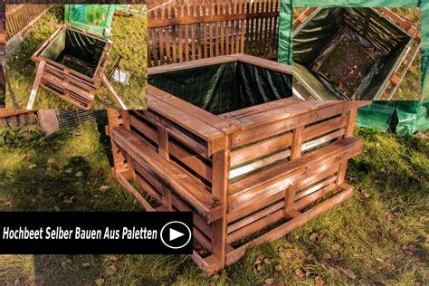 hochbeet bauen aus paletten hochbeet selber bauen aus paletten