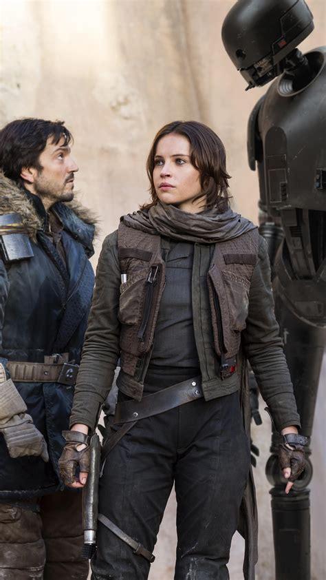 Wallpaper Rogue One: A Star Wars Story, Felicity Jones ...
