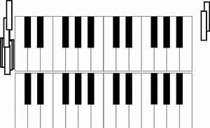 C M Piano : 2 octave piano keys clip art at vector clip art online royalty free public domain ~ Yasmunasinghe.com Haus und Dekorationen