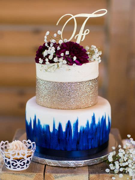 small wedding cakes  big impact bridalguide