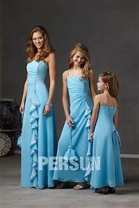 Robe Demoiselle D Honneur Bleu : robes demoiselle d honneur blog officiel de persun fr ~ Melissatoandfro.com Idées de Décoration
