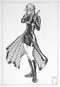 Female Demon Hunter Drawings