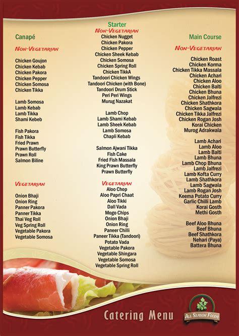 cuisine menu list restaurant bar cat ba monkey island resort