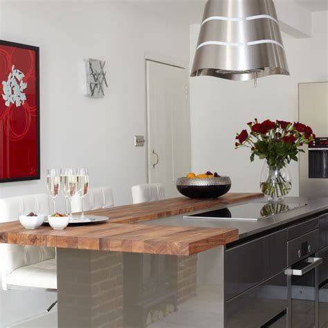 kitchen design with breakfast bar be inspired by this ultramodern kitchen makeover ideal home 7989