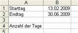 Anzahl Tage Berechnen Zwischen Zwei Daten : anzahl der tage zwischen zwei datumsangaben berechnen ~ Themetempest.com Abrechnung