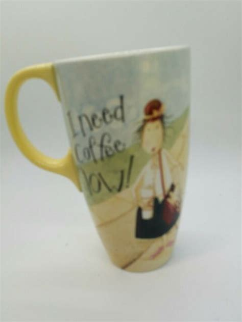 Stream i need coffee, a playlist by musette from desktop or your mobile device. Dan DiPaolo I Need Coffee Now Mug | eBay
