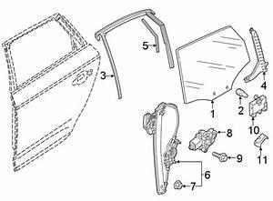 2018 Audi Q5 Power Window Motor  Left  Regulator  Pkg