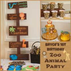Jungle Themed Birthday Party Decorations